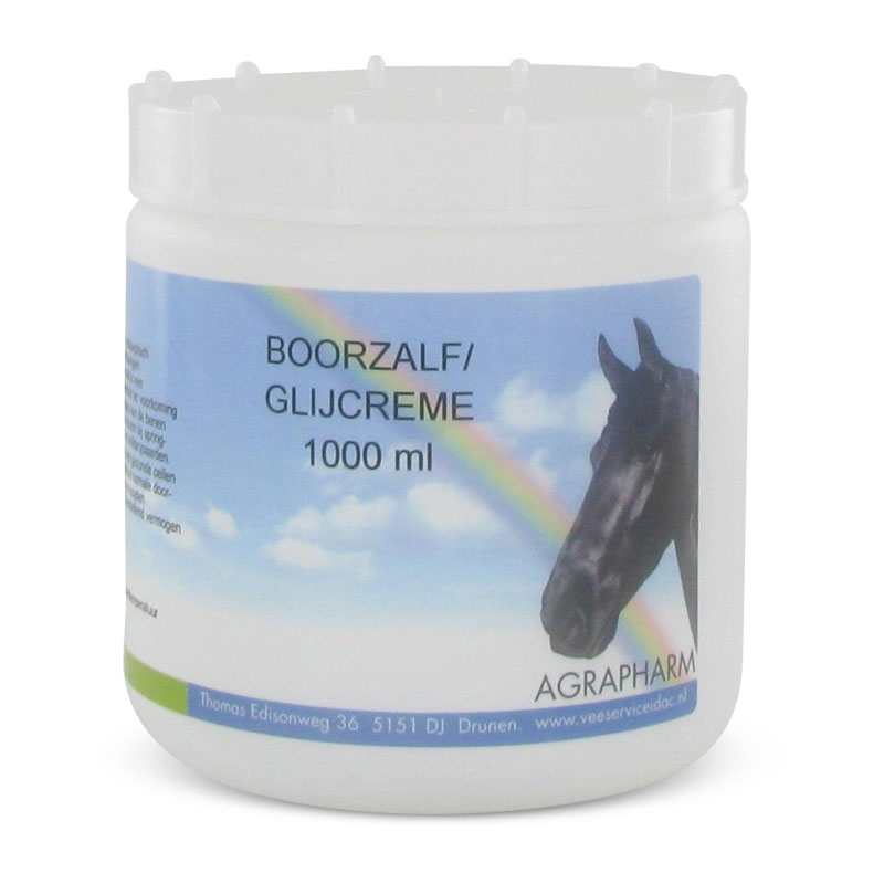 Boorzalf Glijcrème 1000ml