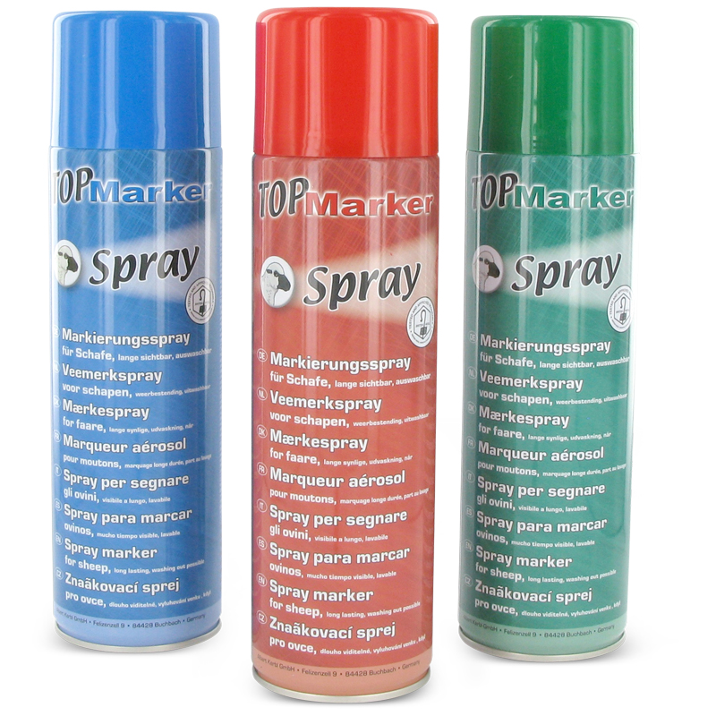Merkspray Raidex Rundvee Varkens 400ml Div. Kleuren ...